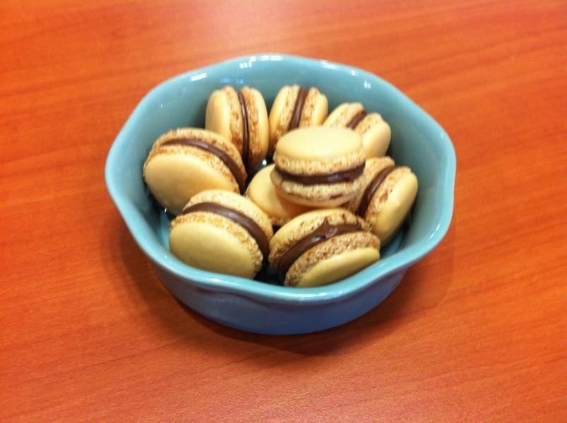 "Macarons au ""Nutella"""