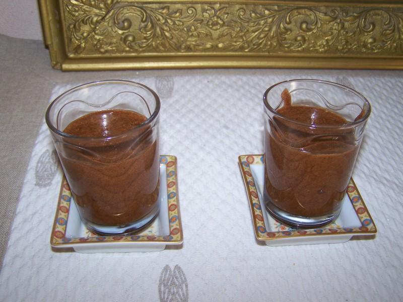 MOUSSE AU CHOCOLAT COINTREAU