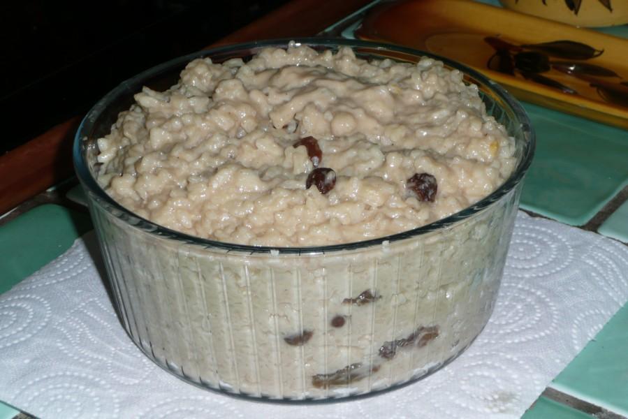Riz au lait (en autocuiseur)