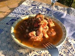 Salade de poulpe à la tunisienne