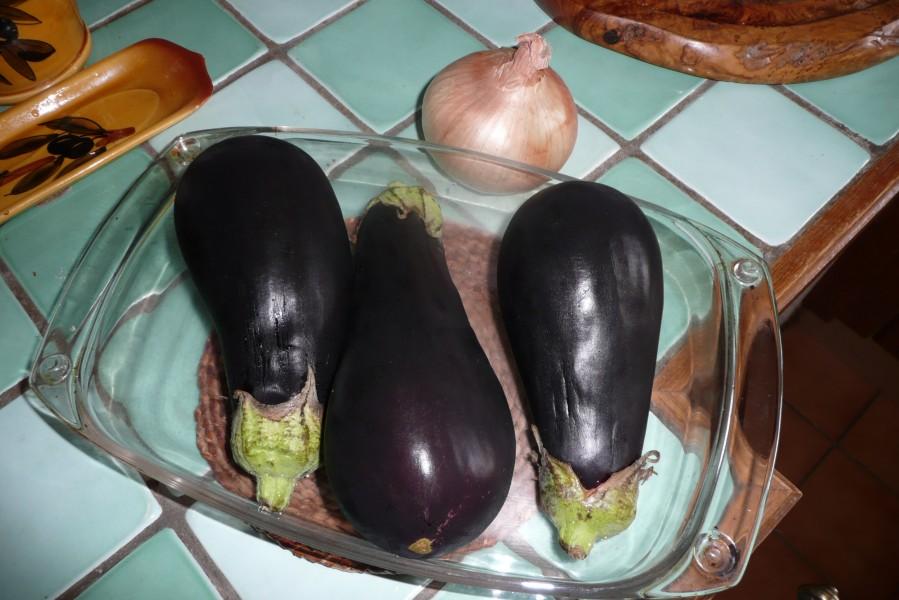 Rougail d'aubergines