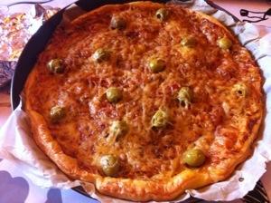 Tarte à la tomate fromage facile