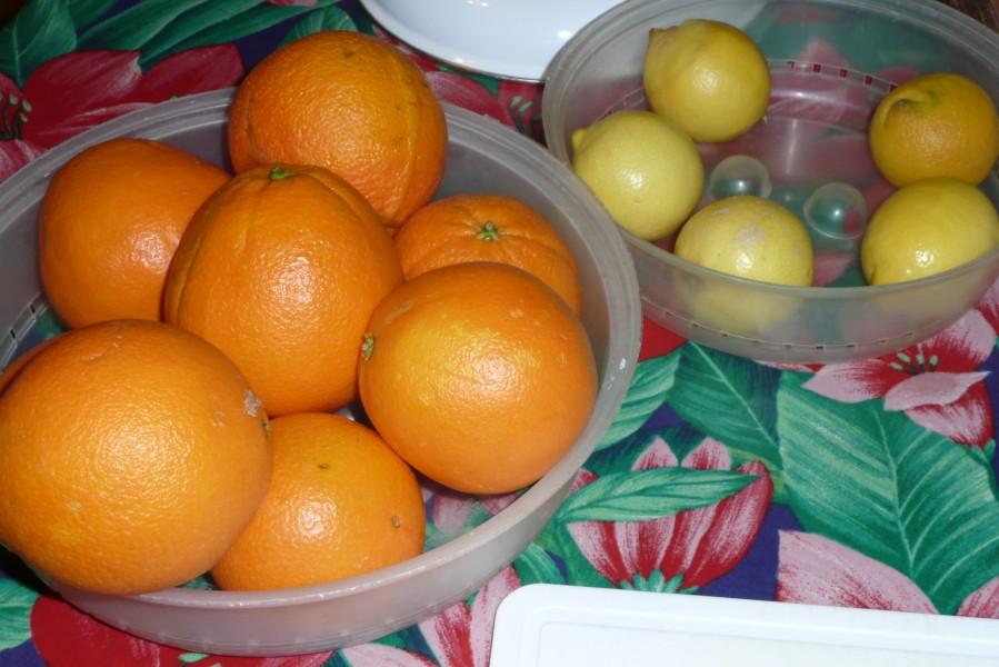Confiture oranges et citrons aux épices