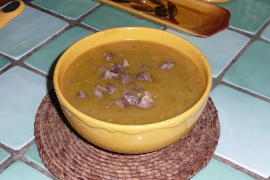 Soupe de Doubeurre au céleri branche