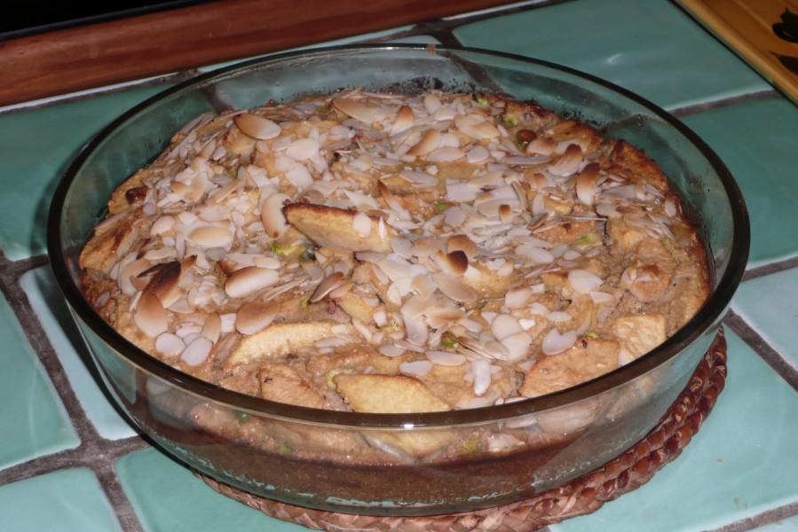 Clafoutis Pommes Pistaches