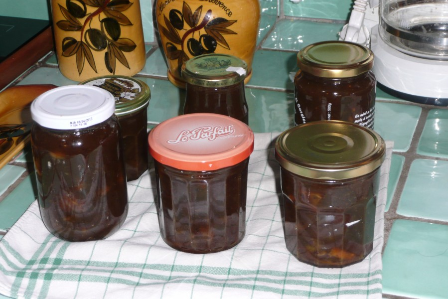 Confiture de kiwis à l'orange