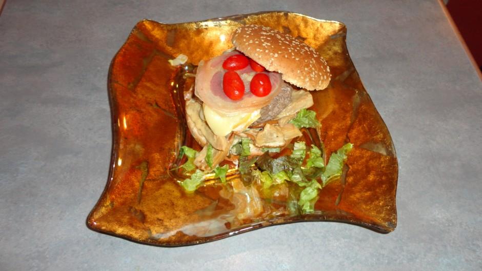 The French Burger ou Hamburger Français