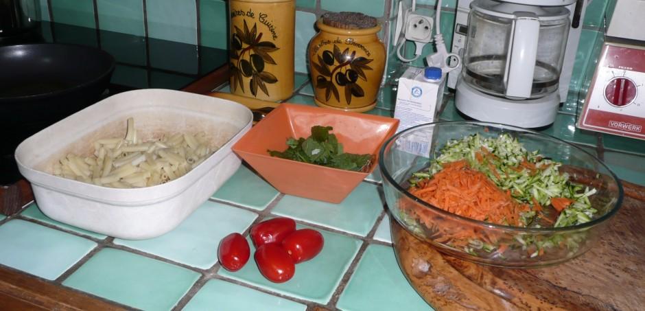 Gratin de macaronis au soja