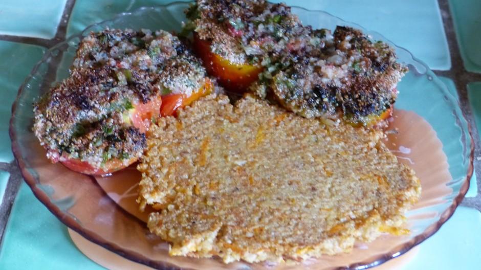 Galettes aux flocons quinoa et sarrasin