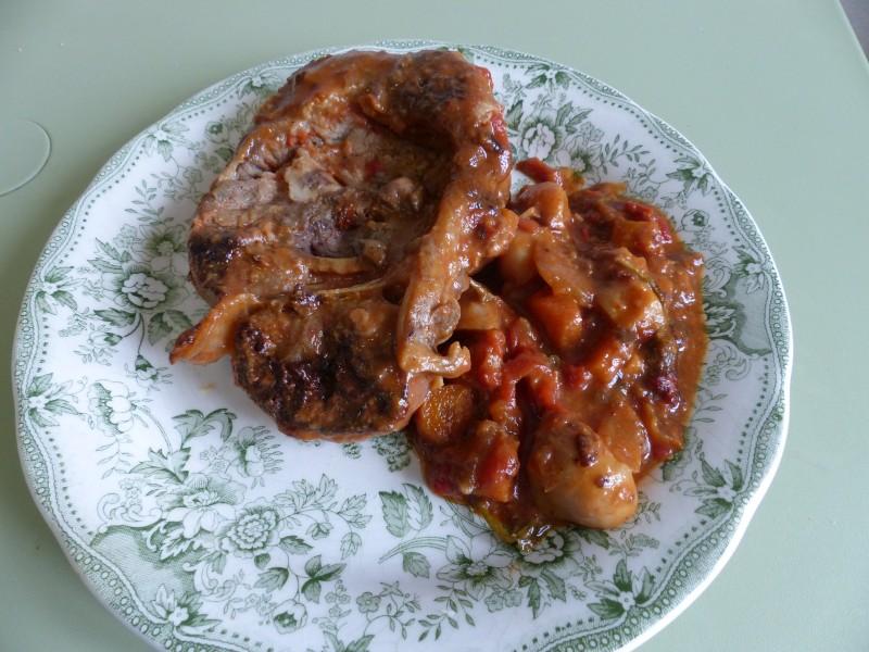 Osso bucco de veau à la Milanaise