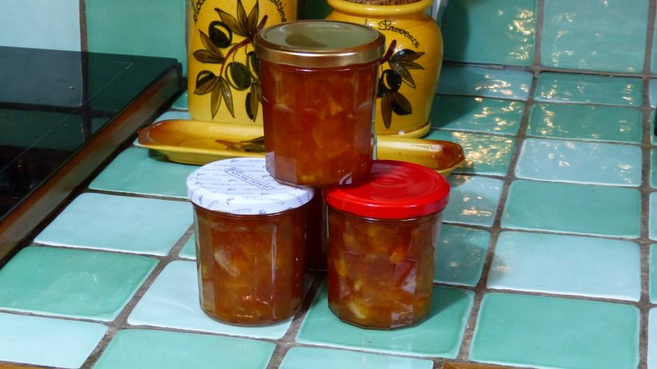 Confiture aux agrumes et aux épices