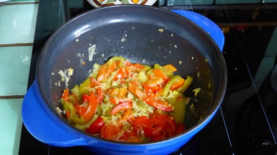 Sauce piquante aux poivrons