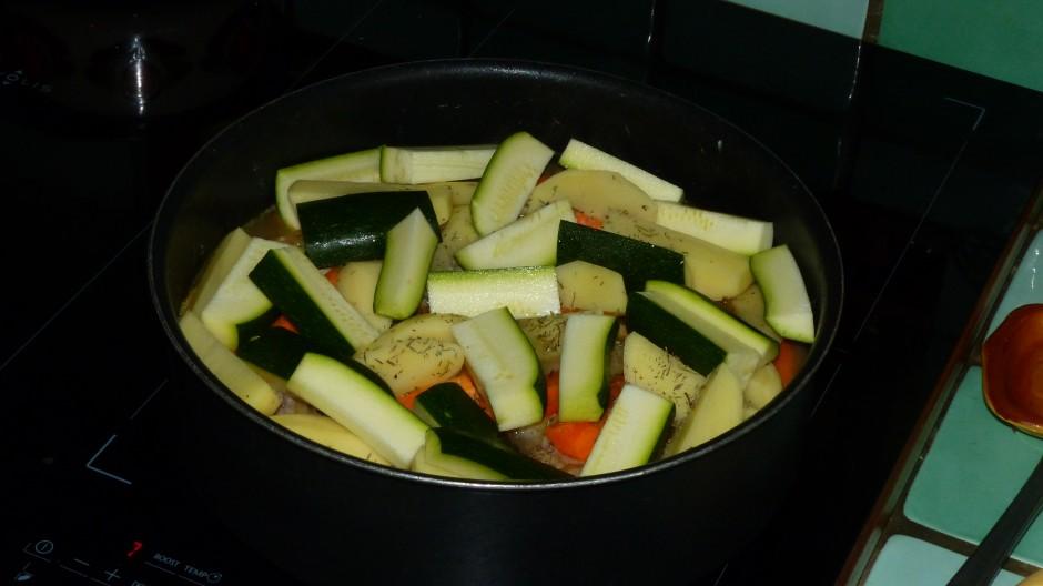 Médaillons de mignon aux légumes