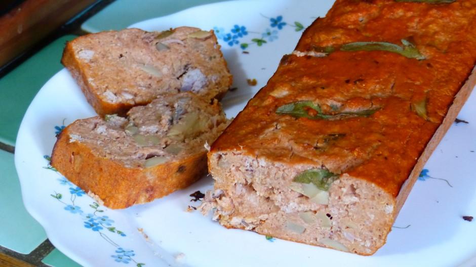 Cake au thon et flocons de sarrasin