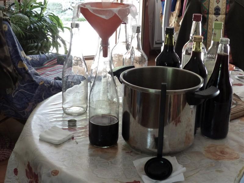 Le vin de noix