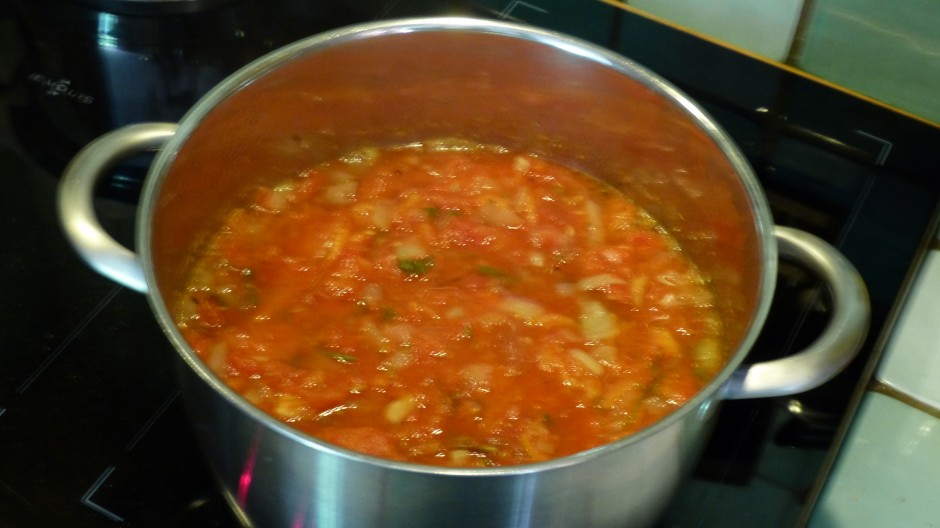 Sauce tomate aux aromates