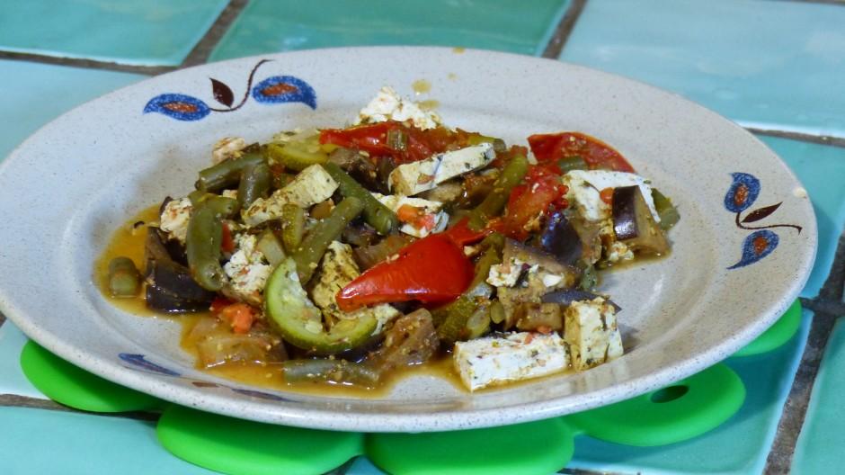 Poêlée d'été au tofu