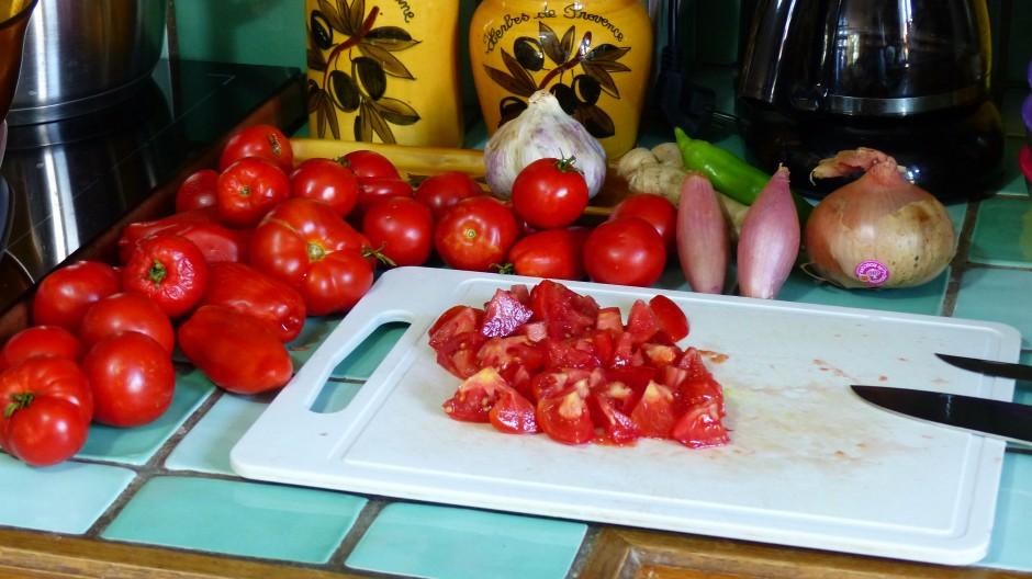 Sauce tomate épicée aux herbes