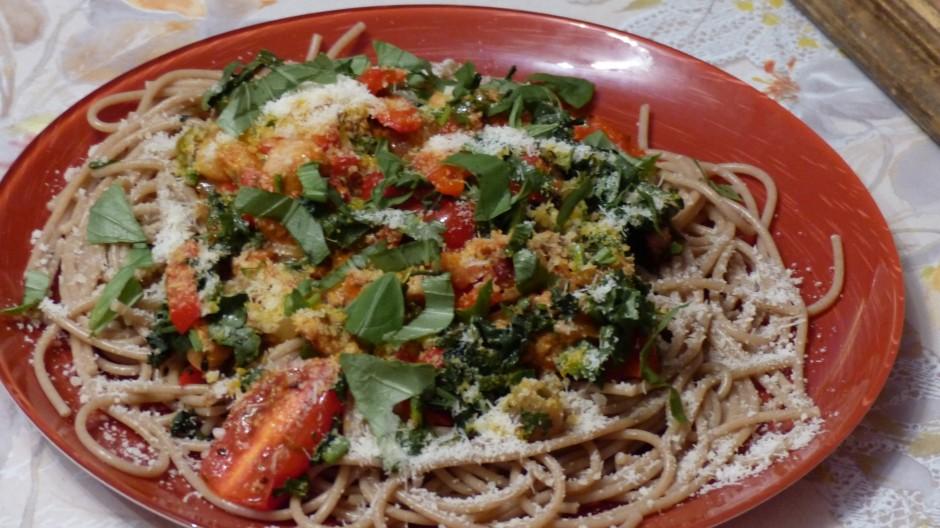 Spaghettis sauce maison