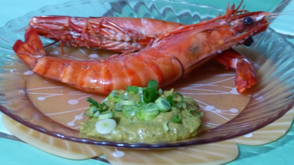 Sauce pour crevettes ou gambas cuites