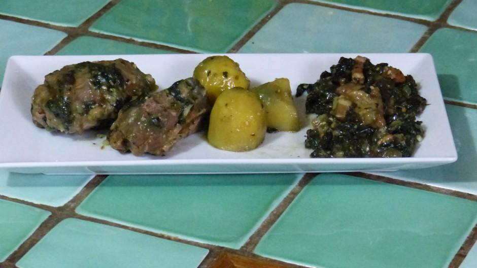 Sauté de dinde au Shiitakes et aux orties