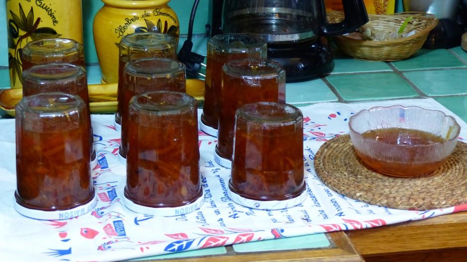 Confiture d'oranges amères à la vanille