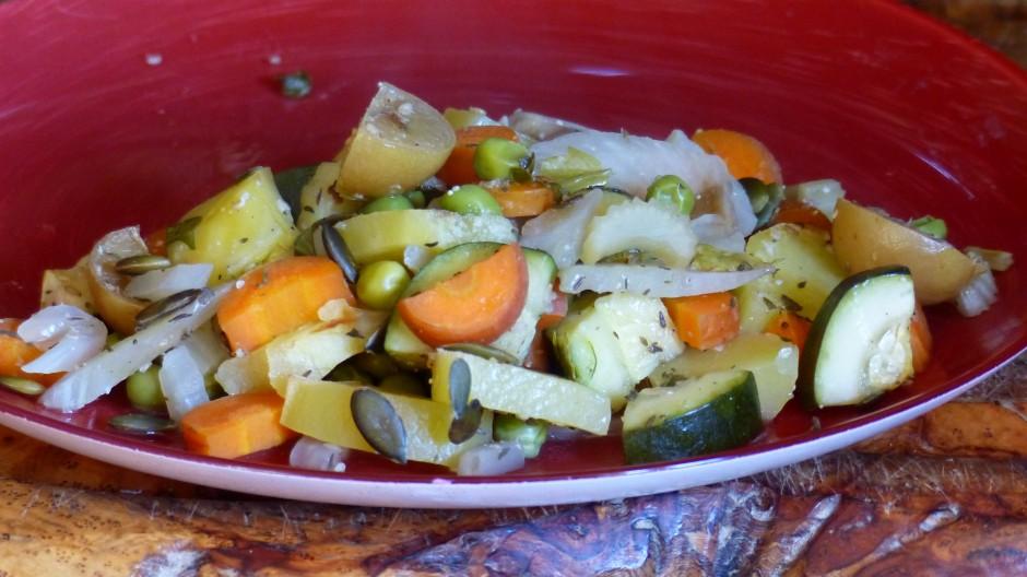 Jardinière de légumes à la cocotte Roaster
