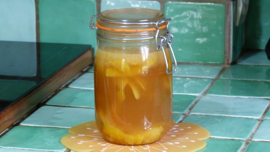 Vinaigre de cidre aux citrons