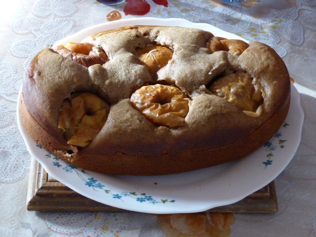 Gâteau cocotte aux pommes et au sirop d'érable