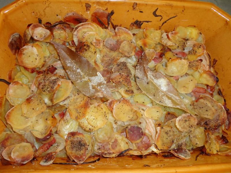 Pommes de terre aux lardons