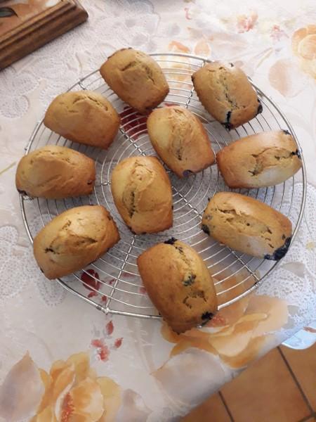 Mini cakes sucrés (moules en silicone)