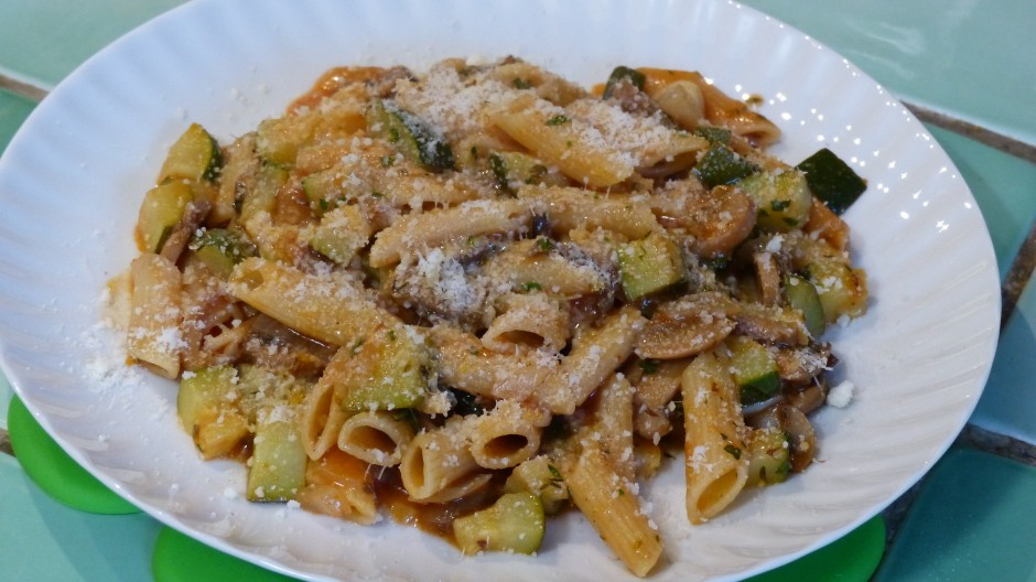 One pot pasta aux légumes