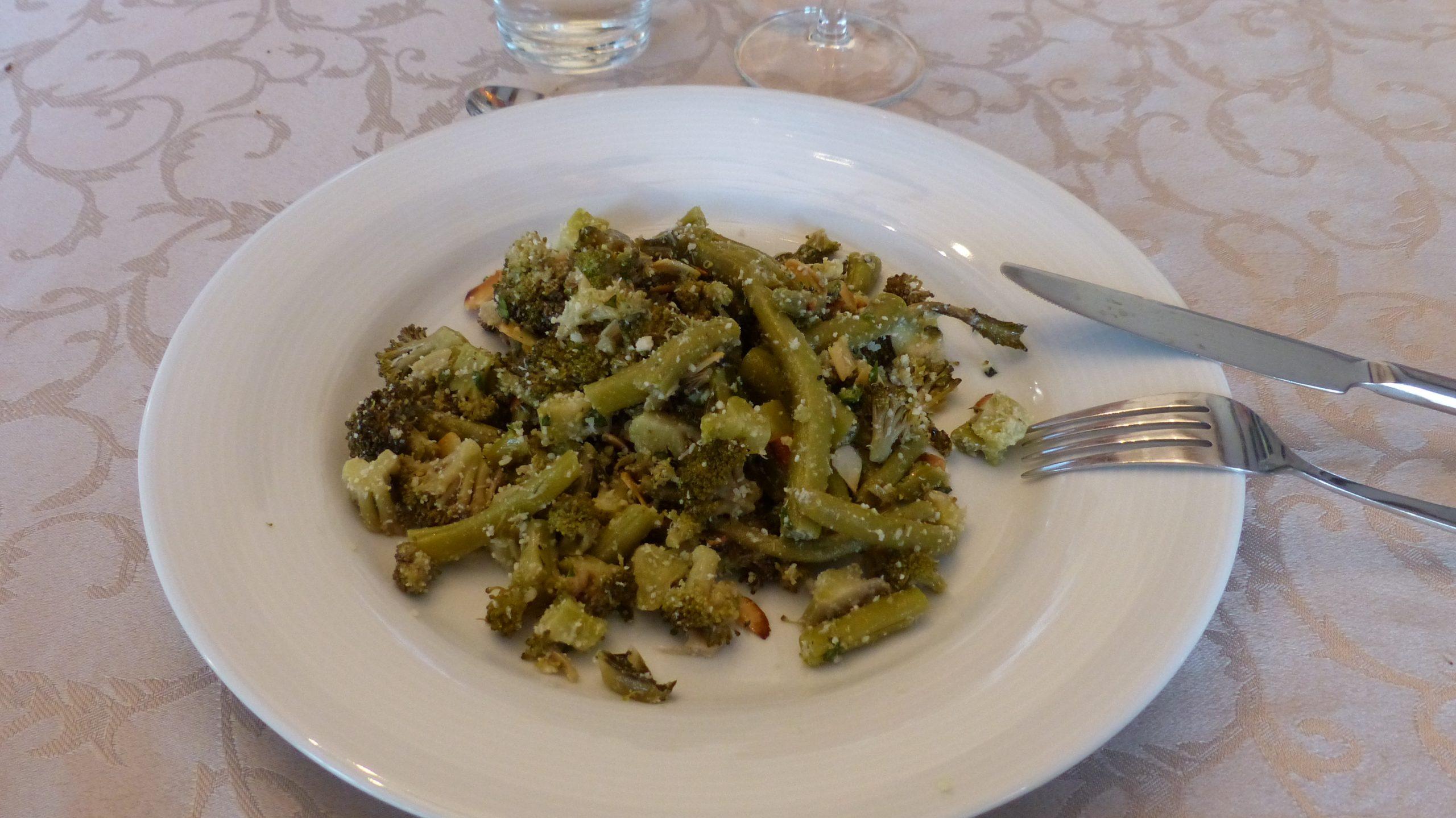 Salade Brocolis et Haricots à l'Italienne