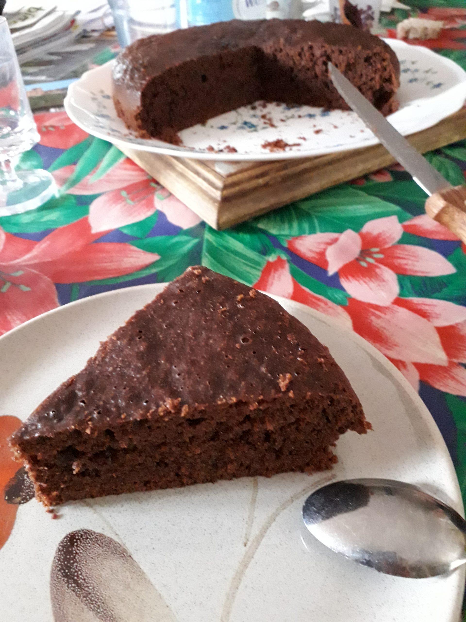Gâteau au chocolat au multi cuiseur