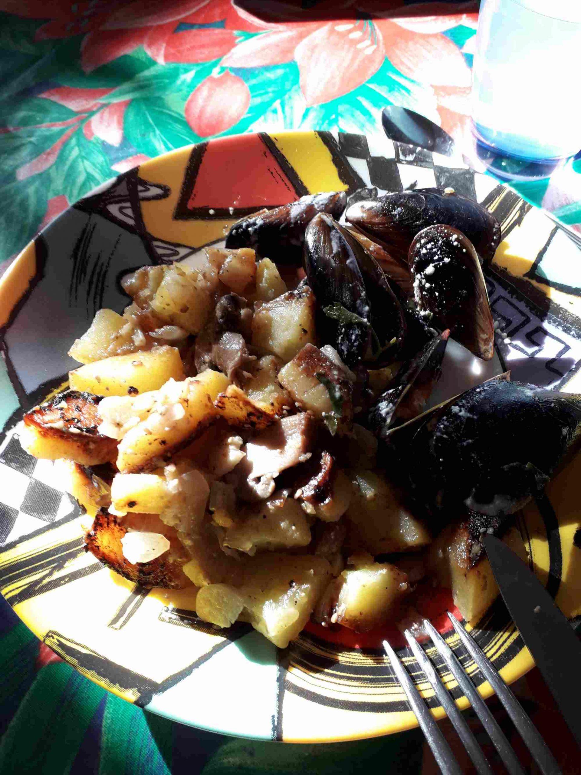 Pommes de terre rissolées aux champignons au multi cuiseur