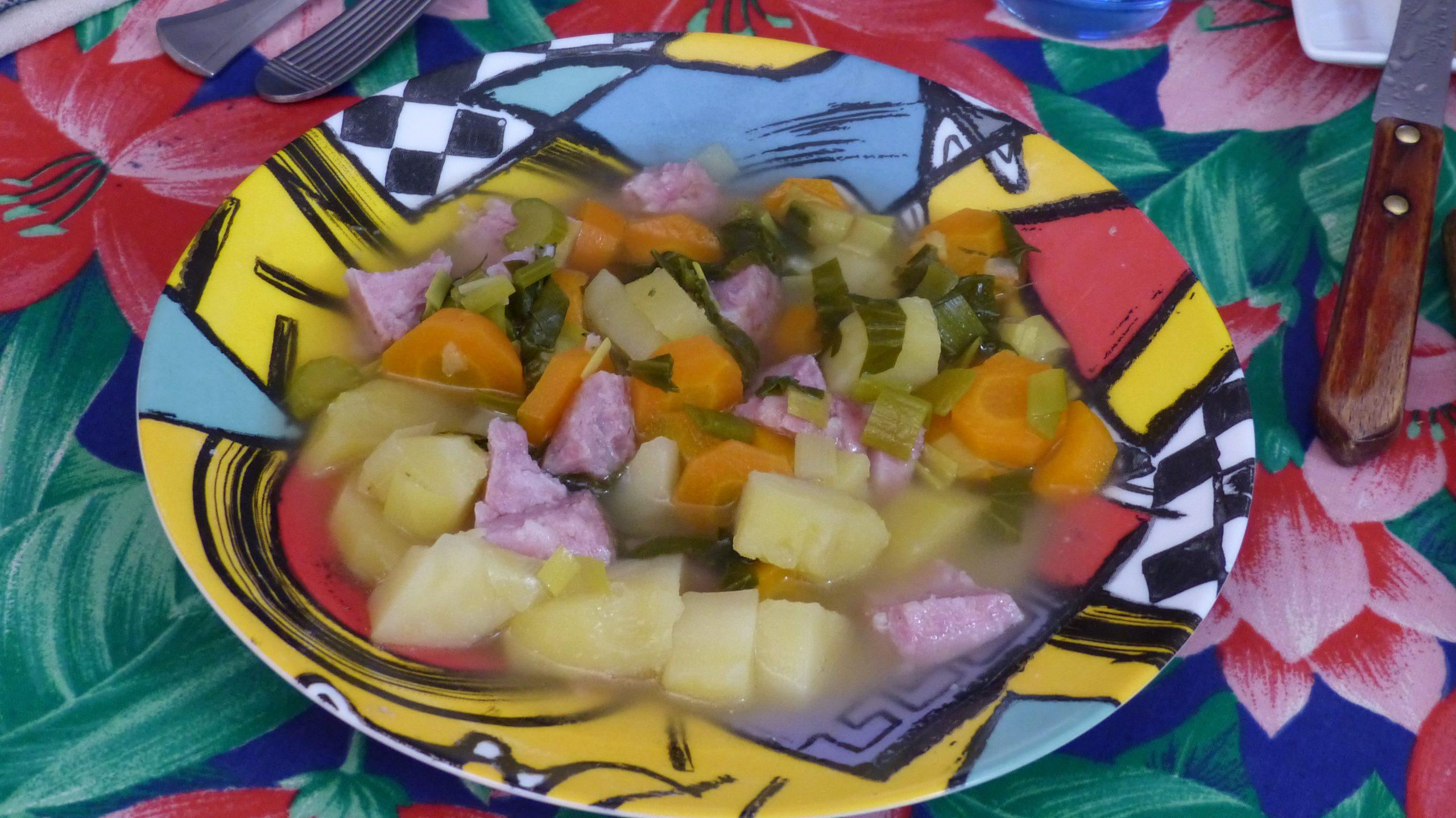 Soupe paysanne au multi cuiseur