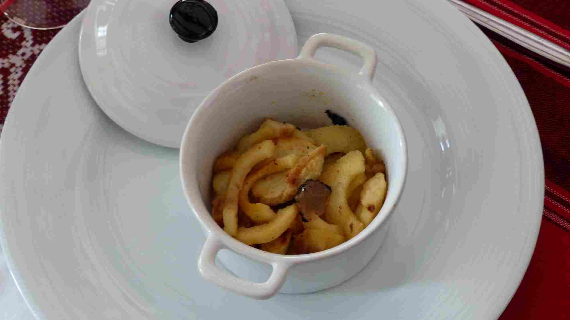Cocottes de boudin blanc aux pommes
