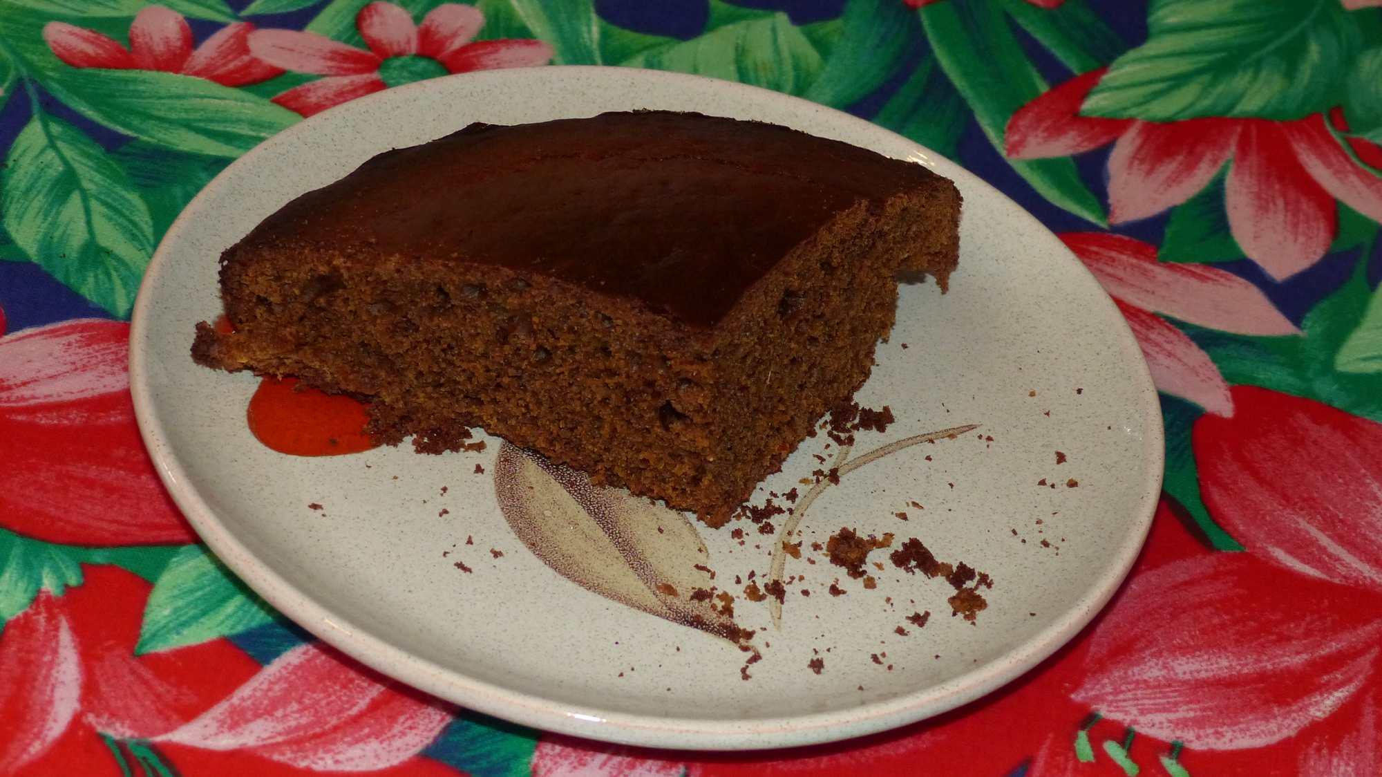 Gâteau à l'orange et aux épices