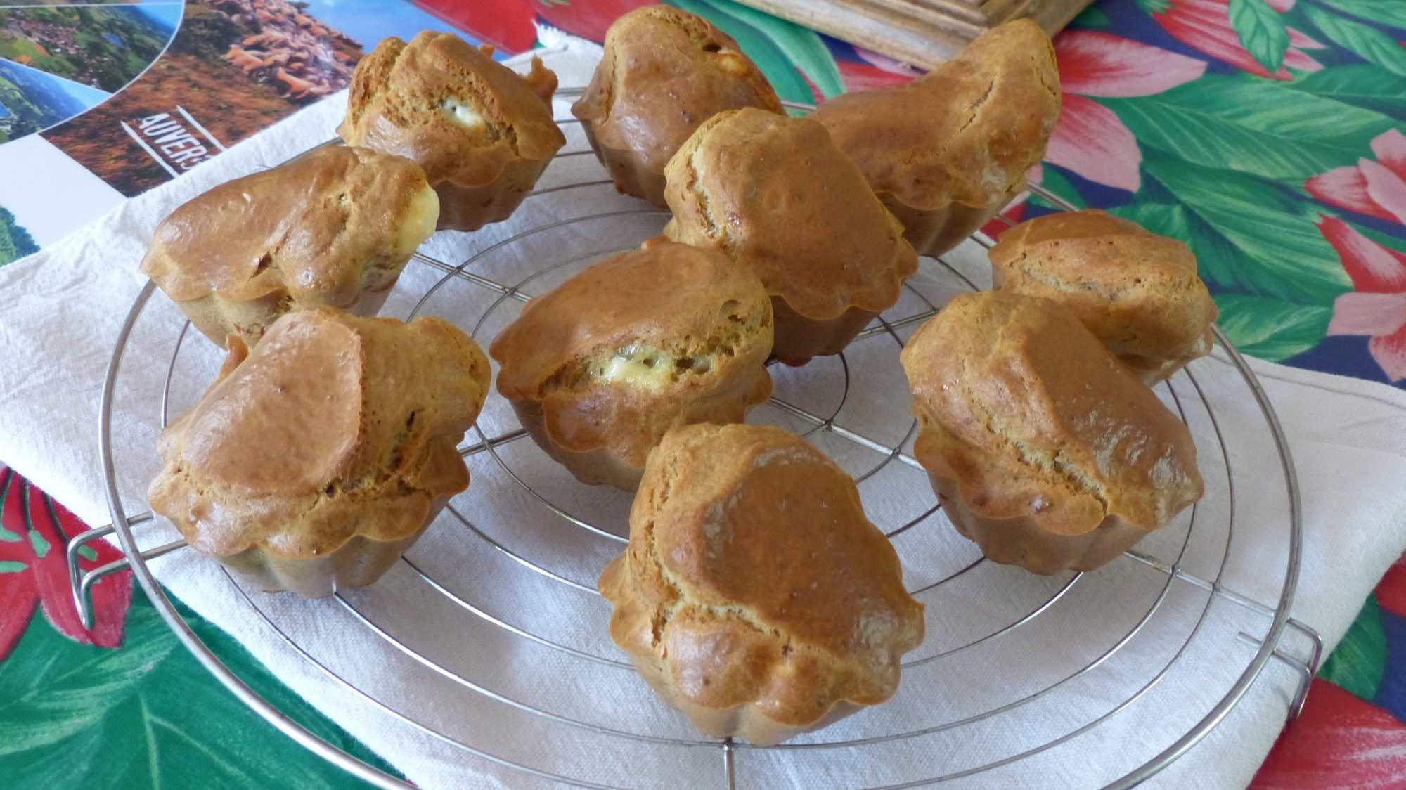 Muffins au chèvre